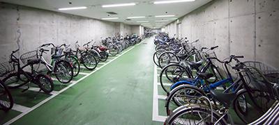 シンフォニービル地下駐輪場